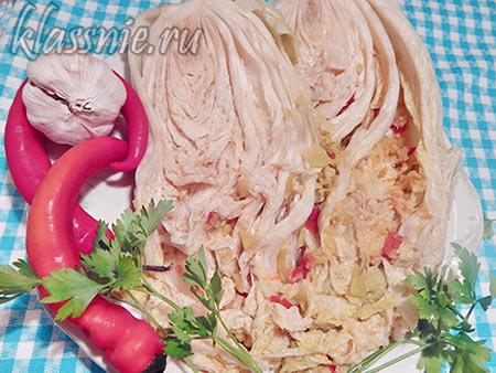 Рецепт кимчи из пекинской капусты по-корейски