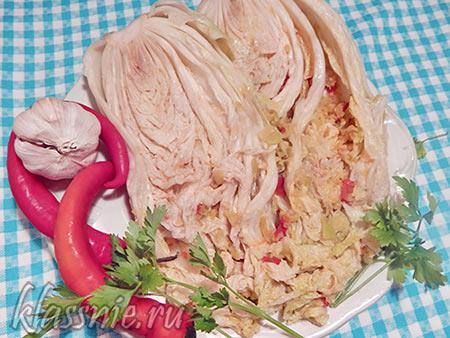 Кимчи из пекинки