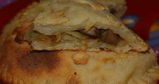 Овощной пирог постный