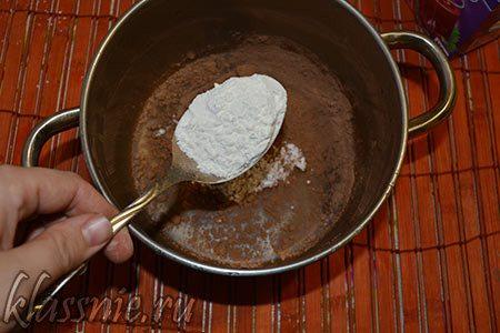 Сахарная пудра с какао