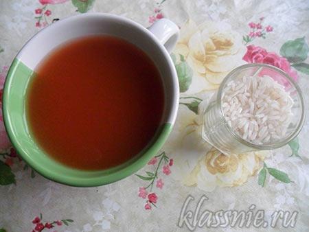 Рис и томатный сок