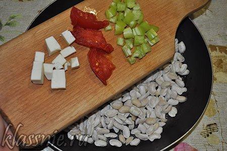 Овощи на сковороде