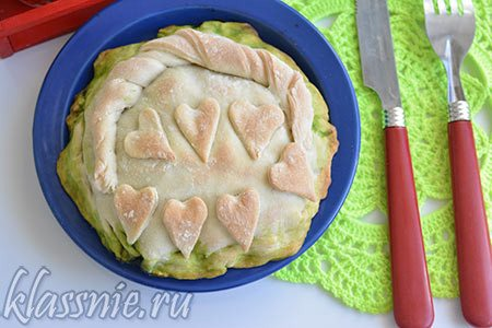 Печеный пирог
