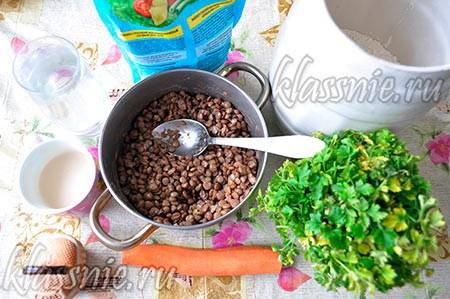 Ингредиенты для начинки и теста