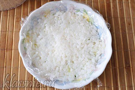 Снова слой риса