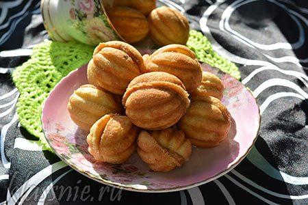 Орешки со сгущенкой, как в детстве