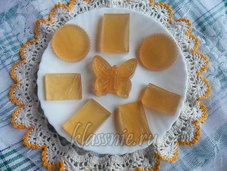 Мармелад на соке