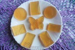 Сладкое желе и растительным желатином