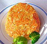 Морковный с сыром