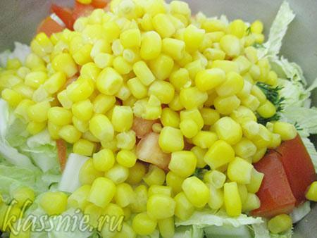 Сладкая кукуруза
