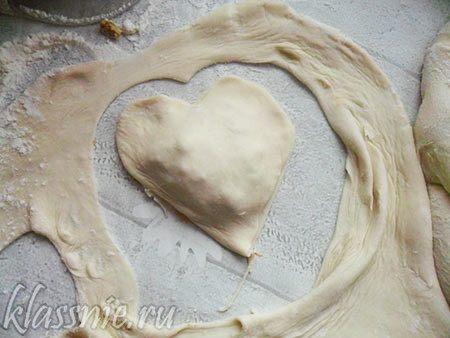 Сердце из пельменя