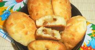 Сладкие пирожки с грушей