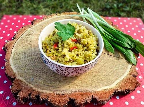Кичари с машем и рисом со специями, рецепт индийской кухни