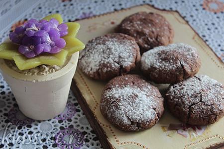Печенье из варенья и цельнозерновой муки