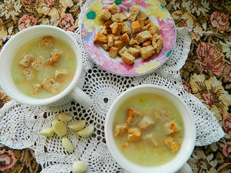 Суп пюре из кабачков с сыром: фото рецепт