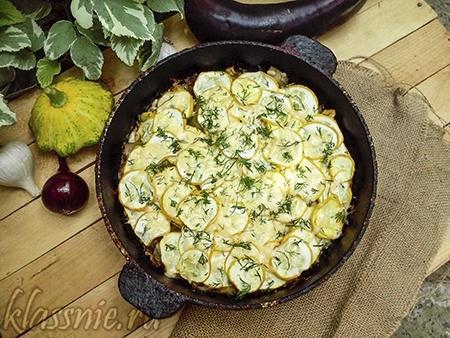 Запеканка из овощей в духовке
