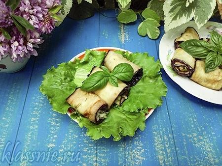 Баклажаны с грецкими орехами по-грузински — рецепт с фото