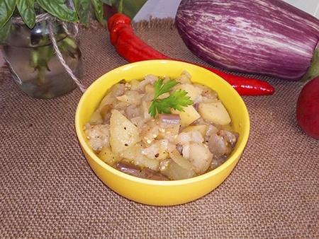 Баклажаны с картошкой в духовке — самый вкусный рецепт!