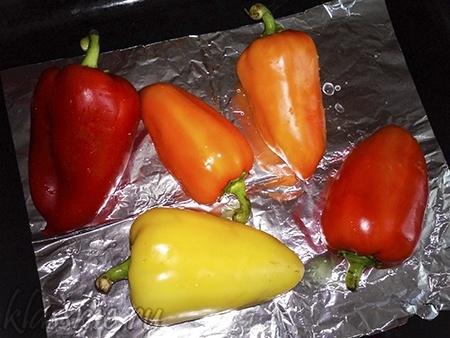 Запеченный в духовке овощи