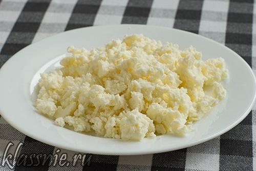 Раскрошенный сыр