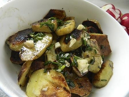 Картофель на гриле + 5 рецептов маринада с фото