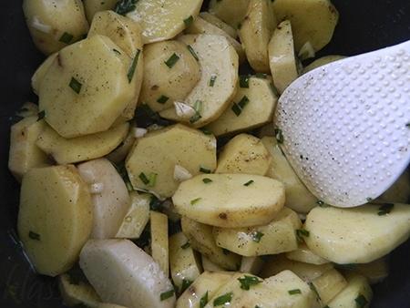 Как замариновать картошку