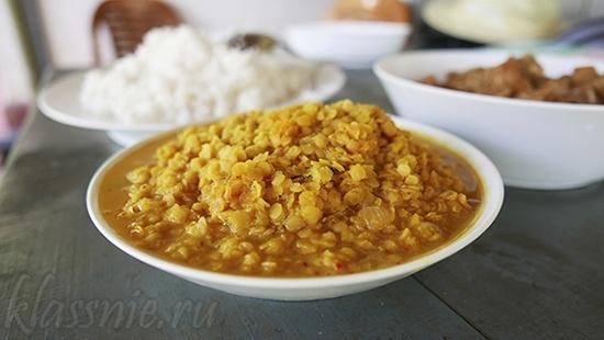 Индийский дал - рецепт с фото