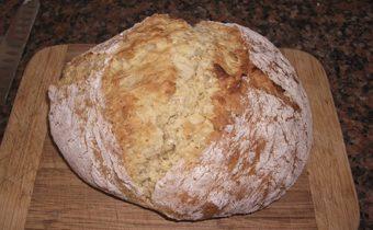 Ржаной хлеб на кефире