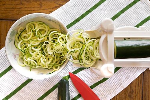 Терка для спагетти из овощей