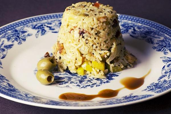 Длинный рис на гарнир
