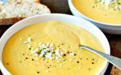 """Сливочный суп-пюре из цветной капусты """"Нежность"""""""