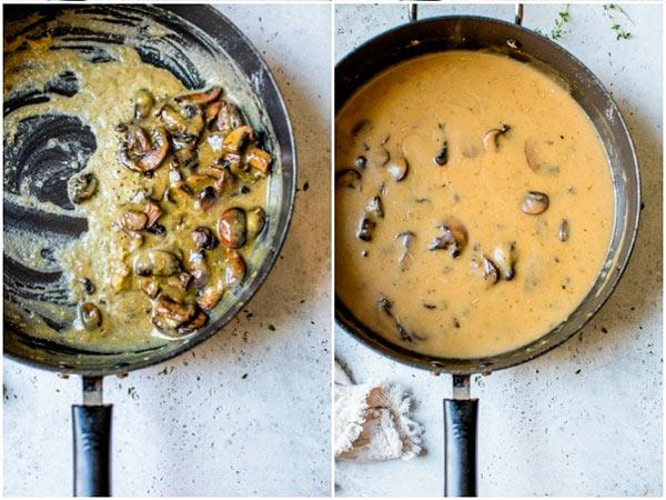 Соус с грибами и картофелем: рецепт приготовления картофельного соуса с грибами