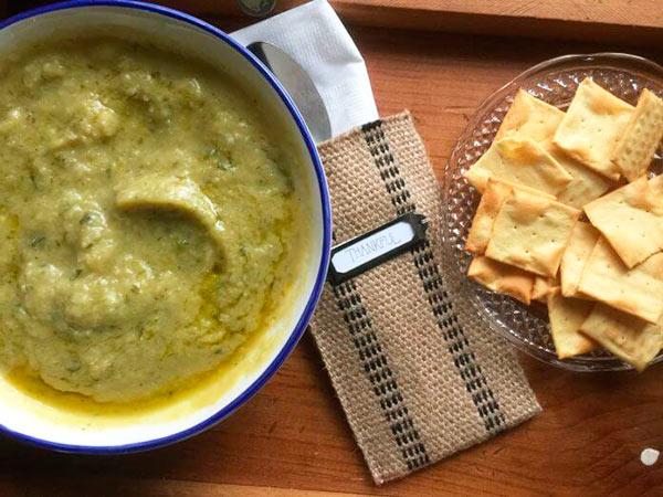 Диетический суп из цветной капусты и кабачка