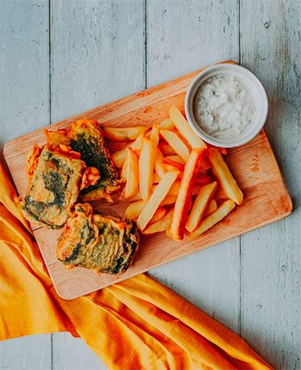 Fish & Chips vegan
