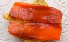 """Вегетарианская семга или копченый веганский лосось """"Моркось"""""""