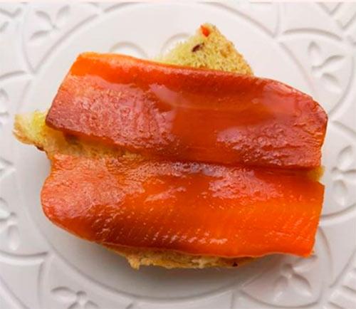 Веганский копченый лосось