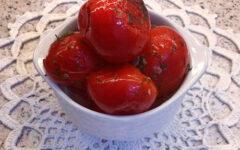Малосольные помидоры в пакете за 4 дня