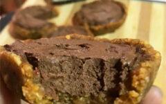 Шоколадный торт из тофу без выпечки