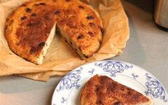 Запеканка из тофу или творожный веган пирог
